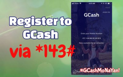 How to Register in Gcash via Text (Access Code *143#)